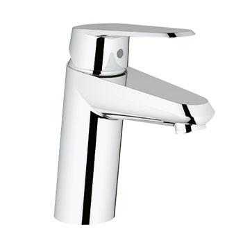 Grohe 32.302.002 Eurodisc Cosmopolitan Lavatory Centerset Less Drain - Chrome