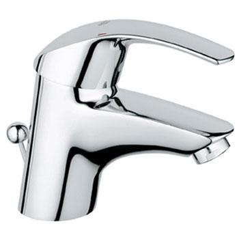 Grohe 32.642.001 Eurosmart Cast Brass Centerset Lavatory Faucet - Chrome