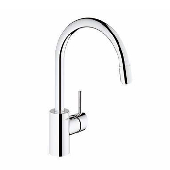 Grohe 32665001 Concetto Dual Spray Pull Down Kitchen Faucet - Chrome