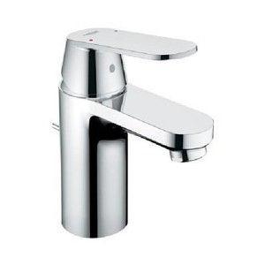 Grohe 32 877 000 Eurosmart Cosmopolitan Lavatory Centerset Faucet Less Drain - Starlight Chrome