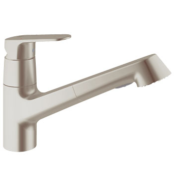 Grohe 32946.DCE Europlus Dual Spray Pull Out - SuperSteel