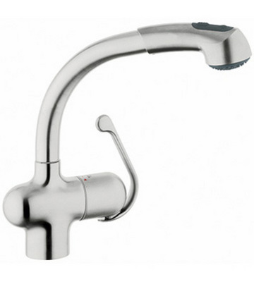 Genial Grohe 33759SD0 Ladylux Plus Pull Out Kitchen Faucet   Stainless Steel