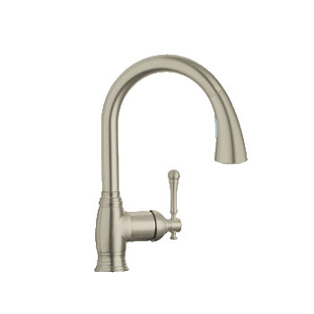 grohe kitchen faucet perfect moen brushed nickel kitchen