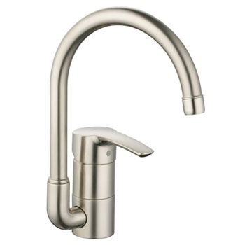 Grohe 33986ENE Eurostyle WaterCare Main Sink Kitchen Faucet - Infinity Brushed Nickel