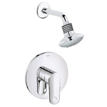Grohe 35.017.002 Europlus Shower Combination Pressure Balance Valve Trim - Starlight Chrome