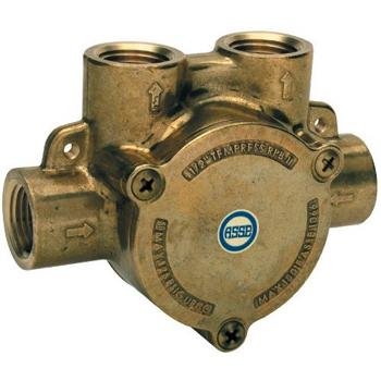 Grohe 35.204.000 Inline Remote Pressure Balance Valve - Rough Brass