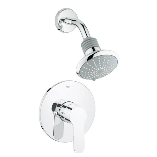 Grohe 35023002 Eurostyle Cosmopolitan Pressure Balance Shower Combination Trim - Chrome