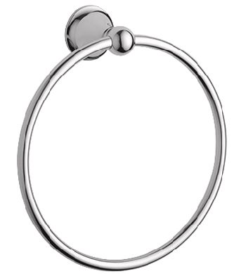 Grohe 40.158.BE0 Seabury Towel Ring - Infinity Sterling