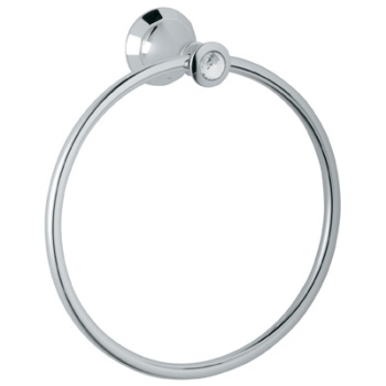 Grohe 40.222.VP0 Kensington Towel Ring with Swarovski Crystal - Chrome
