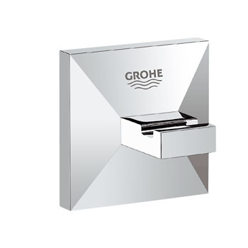 Grohe 40498 000 Allure Brilliant Robe Hook - Chrome
