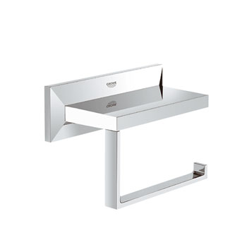 Grohe 40499 000 Allure Brilliant Toilet Paper Holder - Chrome