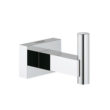 Grohe 40511.000 Essentials Cube Robe Hook - Chrome