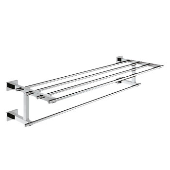 Grohe 40512.000 Essentials Cube Multi-Towel Rack - Chrome