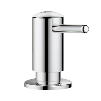 Grohe 40536.DC0 Timeless Soap/Lotion Dispenser - SuperSteel (Pictured in Chrome)