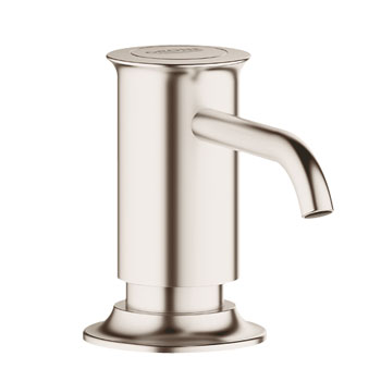 Grohe 40537.EN0 Authentic Soap/Lotion Dispenser - Brushed Nickel