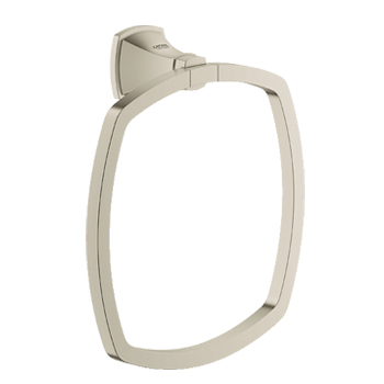 Grohe 40630EN0 Grandera Towel Ring - Brushed Nickel