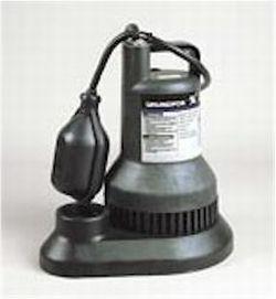 Grundfos SU25-1A10 1/4 HP Sump Pump (96001566