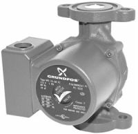 Grundfos UP26-96F/VS 1/12 HP Recirculator Pump with Variable Speed (52722552)