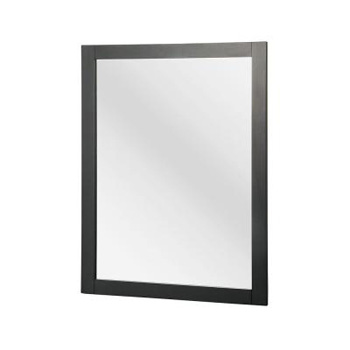Foremost FMHAGM2431 Hanley 30-3/4 in. x 23-1/2 in. Wall Mirror - Charcoal Gray