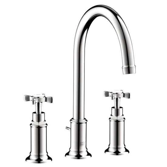 Hansgrohe 16513001 Axor Montreux Widespread Faucet W/cross Handles - Polished Chrome
