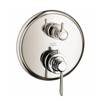 Hansgrohe 16821831 Montreux Thermostatic Trim with Volume Control and Diverter - Polished Nickel