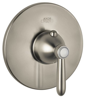 Hansgrohe 17374821 Axor Carlton EcoMax Thermostatic Mixer with Trim - Brushed Nickel