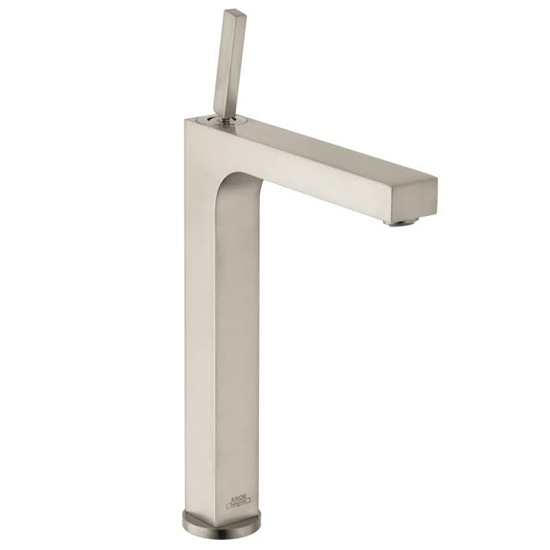 Hansgrohe Axor 39020821 Citterio Single Hole Tall Faucet - Brushed Nickel