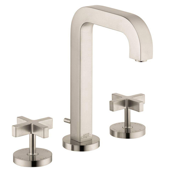 Hansgrohe 39133821 Axor Citterio Widespread Lavatory Faucet - Brushed Nickel