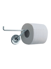 Hansgrhoe 40836000 Axor Starck X Double Toilet Paper Roll Holder - Chrome