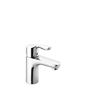 Hansgrohe 04167000 Solaris E Single Handle Lavatory Faucet - Chrome