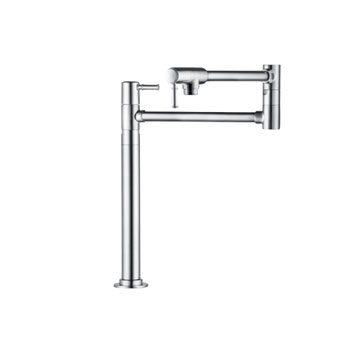 Hansgrohe 04219800 Talis C Deck Mounted Pot Filler - Steel Optik (Pictured in Chrome)