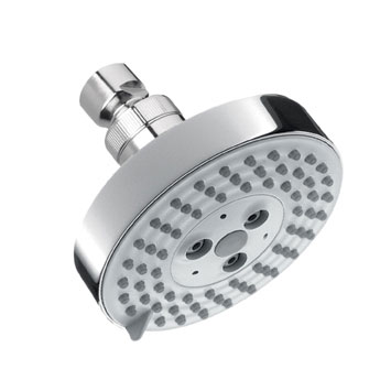 Hansgrohe 04340000 Raindance S 100 AIR Green 3 Jet Showerhead - Chrome