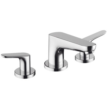 Hansgrohe 04365820 Focus 3 Hole Roman Tub Set Trim - Brushed Nickel (Pictured in Chrome)