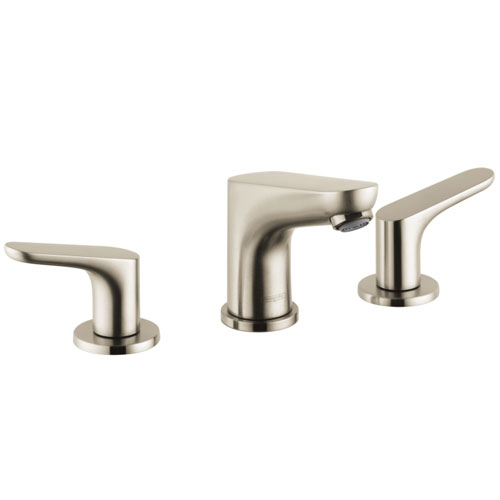 Hansgrohe 04369820 Focus 100 Widespread Lavatory Faucet - Brushed Nickel