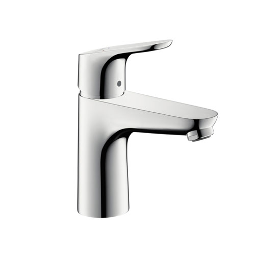 hansgrohe bathroom faucet. Hansgrohe 04371000 Focus 100 Single Hole Lavatory Faucet  Chrome