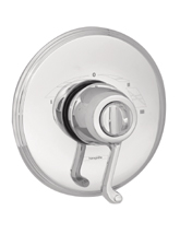 Hansgrohe 06068000 Swing C Trim, ThermoBalance III with Scroll Handle - Chrome