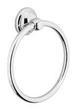 Hansgrohe 06095820 Towel Ring - Brushed Nickel (Pictured in Chrome)
