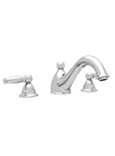 Hansgrohe 06107930 Limbo 3-Hole Roman Tub Filler (Trim Only) - Polished Brass (Pictured in Chrome)