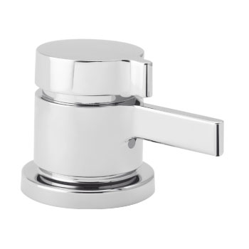 Hansgrohe 06401000 Metris S Thermostatic Deck Valve - Chrome