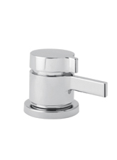 Hansgrohe 06401820 Metris ThermoBalance II Deck Valve - Brushed Nickel (Pictured in Chrome)