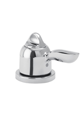 Hansgrohe 06450930 Solaris ThermoBalance II Deck Valve - Polished Brass (Pictured in Chrome)