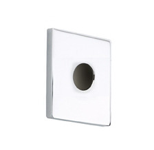 Hansgrohe 06491000 Square Escutcheon - Chrome