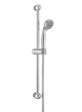 Hansgrohe 06494820 Croma 3-Jet Wallbar Set - Brushed Nickel (Pictured in Chrome)