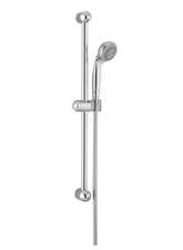 Hansgrohe 06496820 Croma 2-Jet Wallbar Set - Brushed Nickel (Pictured in Chrome)