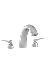 Hansgrohe 06651000 Metro 3-Hole Roman Tub Filler - Chrome