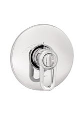 Hansgrohe 06655820 Metro ThermoBalance I (Trim Only) - Brushed Nickel (Pictured in Chrome)
