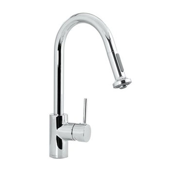 Hansgrohe 06801000 Talis HighArc 2 Spray Pull-Out Kitchen Faucet - Chrome