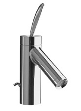 Hansgrohe 10010821 Axor Starck Lavatory Mixer - Brushed Nickel (Pictured in Chrome)