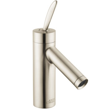Hansgrohe 10010821 Axor Starck Lavatory Mixer - Brushed Nickel