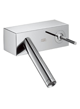 Hansgrohe 10074001 Axor Starck 'X' Wall Mounted Single-Handle Lavatory Faucet - Chrome